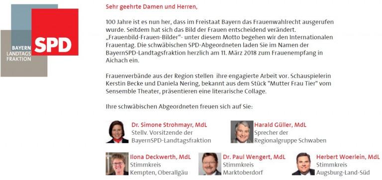Frauenempfang der SPD-LTF 1