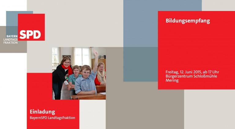 Bildungsempfang der SPD-Landtagsfraktion